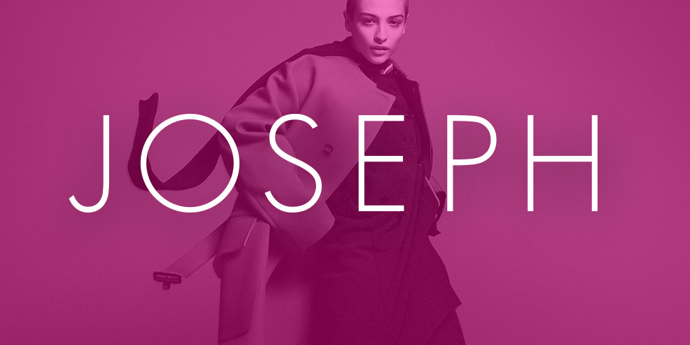 Joseph Fashion - Launching a high-end fashion site in 3.5 months