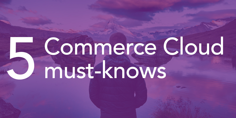 5 things you need to know about Salesforce Commerce Cloud