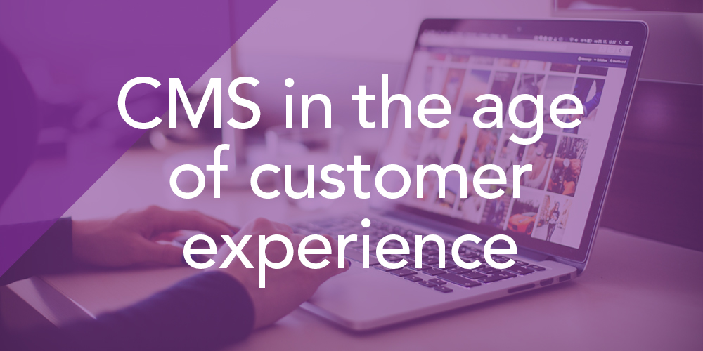 Whitepaper: CMS in the age of Customer Experience