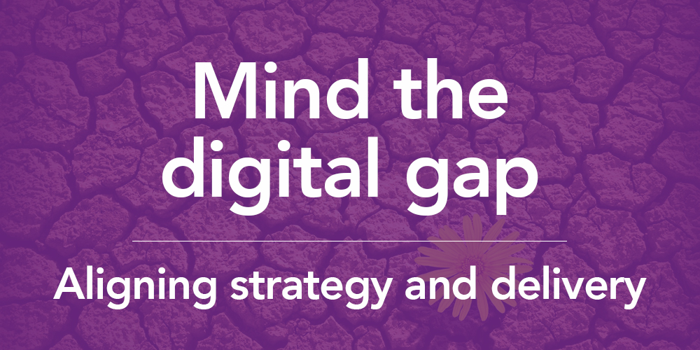 Mind the digital gap whitepaper
