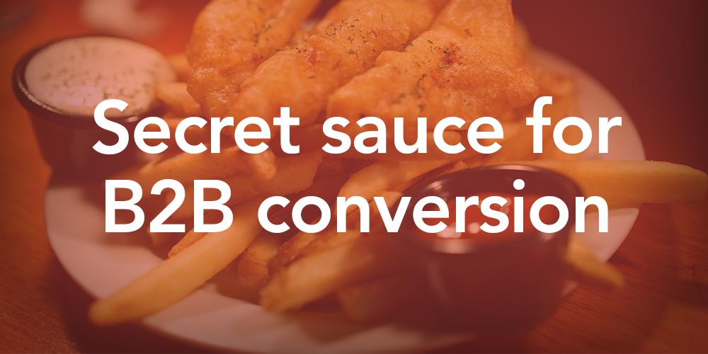 B2B conversion