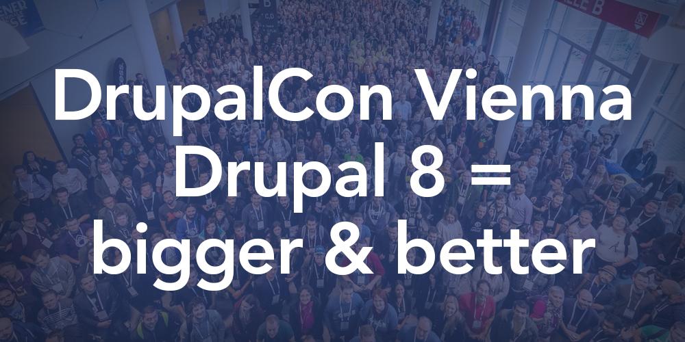 DrupalCon Vienna - Drupal 8