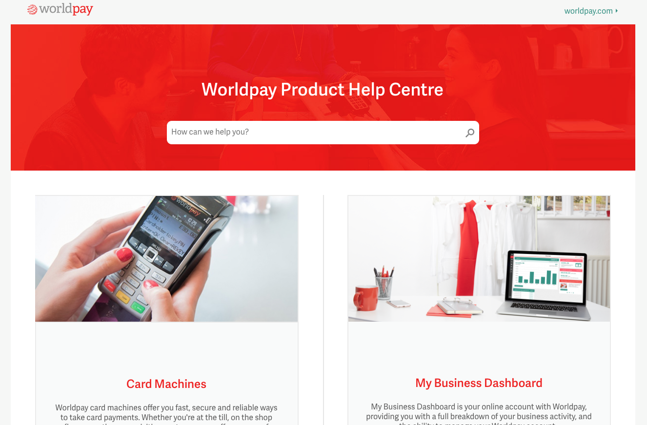 Worldpay Drupal 8 website