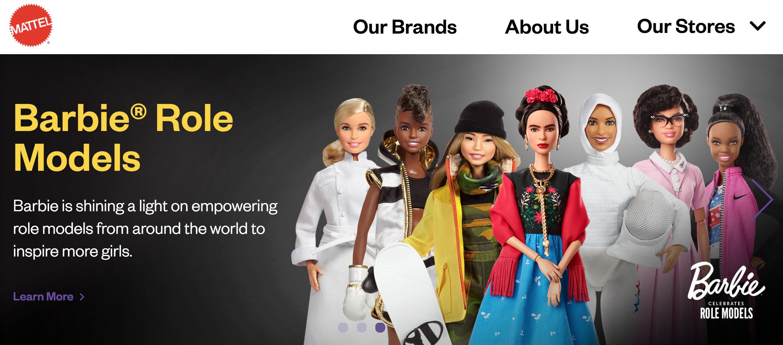 Mattel Drupal 8 website