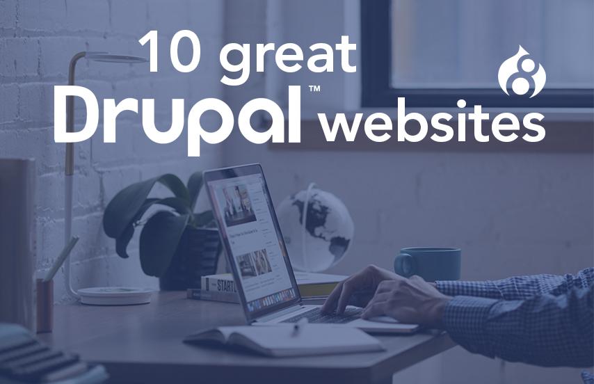 sites built with drupal