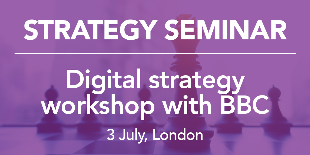 Digital strategy workshop