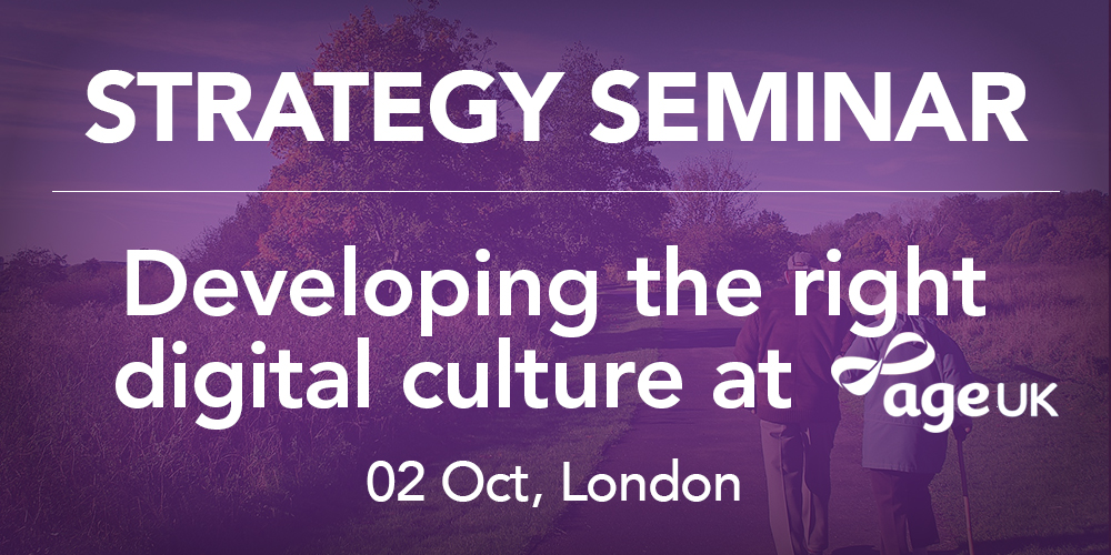 Inviqa's Digital Strategy Seminar with Age UK