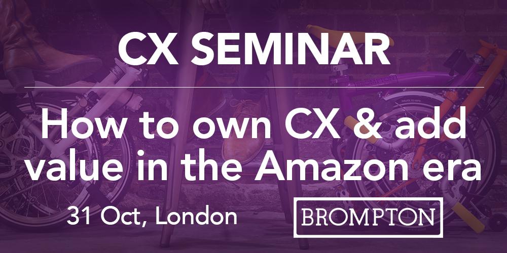 Retailers' CX breakfast seminar