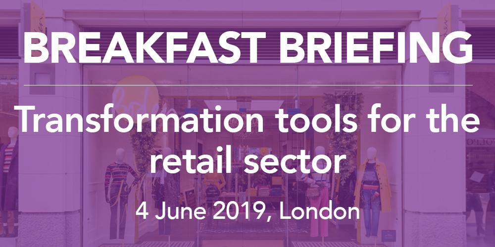 Retail breakfast event